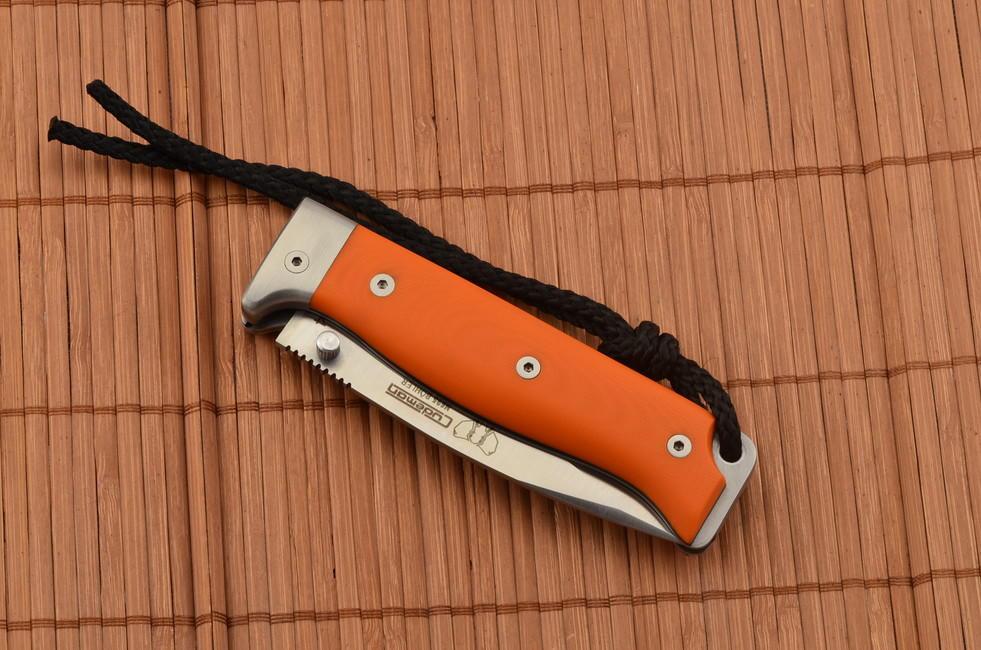 Cudeman Mt4 Orange G 10 Knife Euro Knife Com