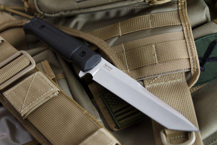 Kizlyar Supreme Aggressor Aus8 Satin Knife Euro Knife Com