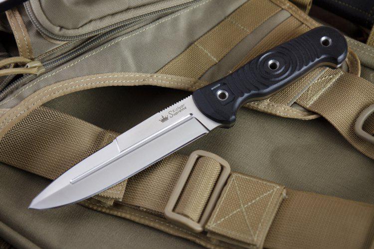 Kizlyar Supreme Legion D2 Satin Knife Euro Knife Com