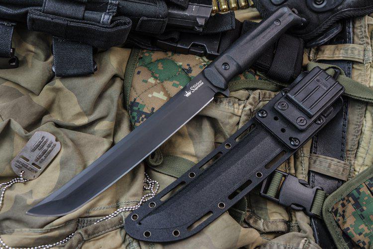 Kizlyar Supreme Sensei D2 Black Knife Euro Knife Com