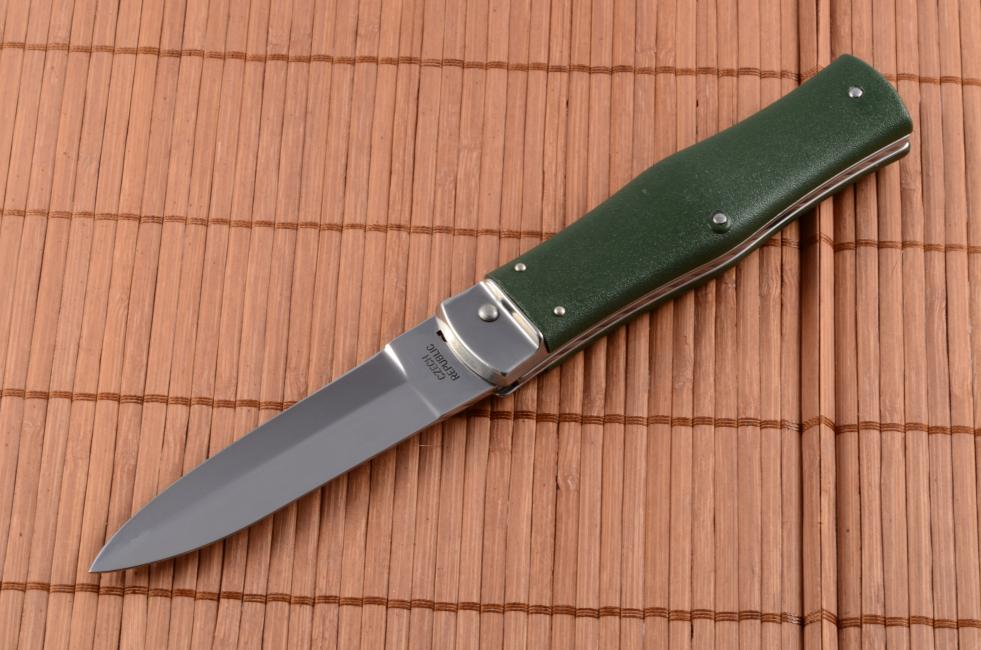 Mikov Predator 241 Nh 1 Kp Green Knife Euro Knife Com