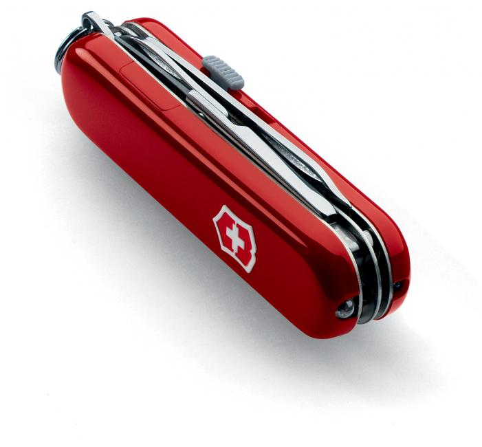 Victorinox Midnite Manager Red Pocket Knife White Led Sku