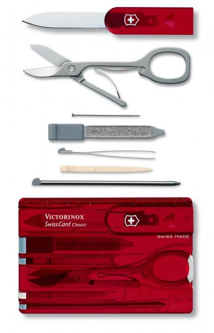 Swiss Army Knife Victorinox Swiss Card 0 7100 T Knife