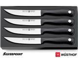 Wüsthof SILVERPOINT Knife Set 4 steak