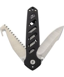 Buck Alpha Crosslock Black
