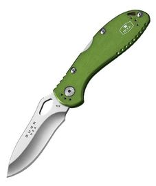 Buck Slimline Lockback Green
