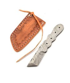 Damask neck knife - 02KPDAM