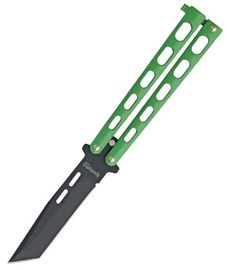Remington Butterfly Green Handles