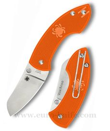 Spyderco Pingo. Plain Orange C163POR