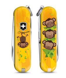 Swiss army knife - ClassicLE 2016 3 Wise Monkeys 0.6223.L1607