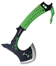 Z-Hunter Axe Green Splatter ZB152BG