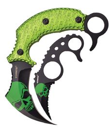 Z-Hunter Karambit Knife Set ZB109GN