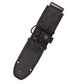 MOLLE Back Black Sheath