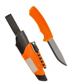 Knife Mora Bushcraft Survival Orange