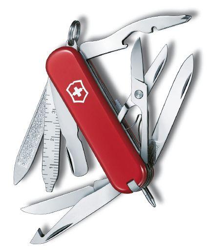 Swiss Army Knife Victorinox Minichamp 0 6385 Knife