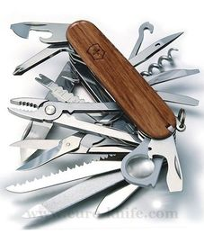 Swiss army knife - Victorinox SWISSCHAMP 1.6794.69