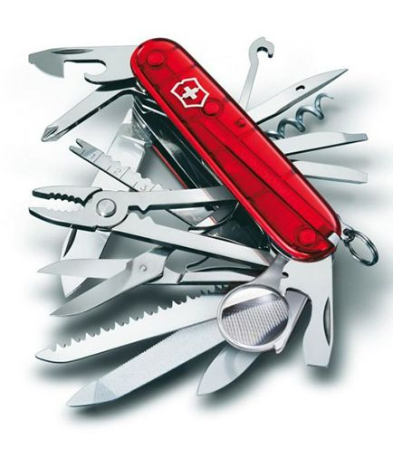 Swiss army knife - Victorinox SWISSCHAMP 1.6795.T