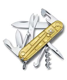 Swiss army knife - Victorinox  CLIMBER  GOLD 1.3703.T88