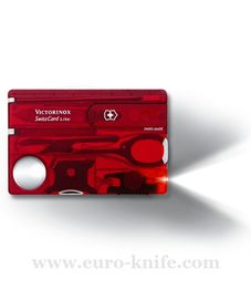 Swiss army knife - Victorinox SWISS CARD Lite 0.7300.T
