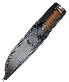 Leather sheath for Knife Fällkniven NL2