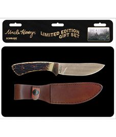Schrade Uncle Henry Fixed Blade w/Tin SCHUHP1730CP