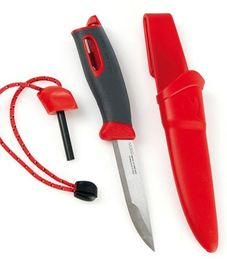 Swedish FireKnife - red