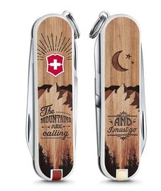 Swiss army knife - ClassicLE 2016 The Mountains are calling 0.6223.L1604