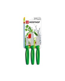 Wüsthof Knife green 3 pieces